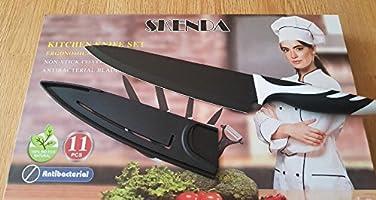 Amazon.com: Skenda 11pc juego de cuchillos de cocina incluye ...