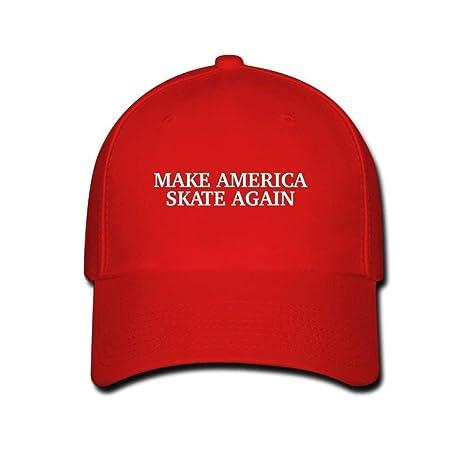 Bgejkos Make America Skate Again Gorra de béisbol de Moda Unisex ...