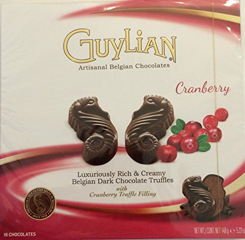 guylian-belgian-dark-chocolate-seahorse-truffles-with-cranberry-truffle-filling-522-ounce-box