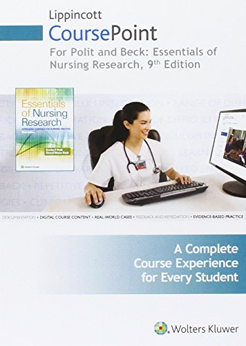 Lippincott CoursePoint for Polit: Essentials of Nursing Research (CoursePoint for BSN) by LWW