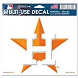 "Houston Astros Removable 5""x6"" Car Decal"