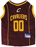 NBA Pet Mesh Tank Top, X-Small, Cleveland Cavaliers