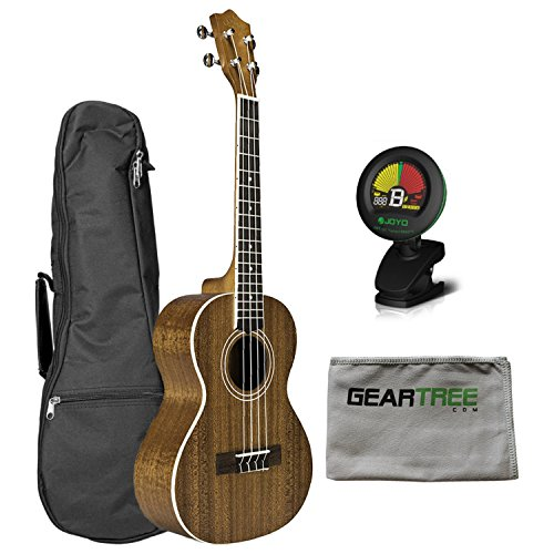 Lanikai MA-T Mahogany Tenor Ukulele w/ Gig Bag, Cloth, and Tuner by Lanikai
