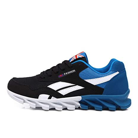 abfe68da0370a9 Amazon.com  CoolBao New Men Sneakers Male Running Shoes Trainers Lace-up  Outdoor Athletic Sport Shoes  Sports   Outdoors