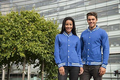 L Xs Xxl Gris Rojo Gris Universitaria Chaqueta Azul Negro Xl S Azul Claro Tallas Marino M AUBPq1