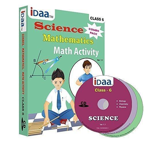 Idaa Class 6-Combo (Mathematics, Science & Maths Activity) CBSE (CD ...