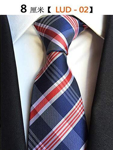 XIAMAZ Corbata para Hombres Corbata A Rayas Y Cuadros Clásica Moda ...