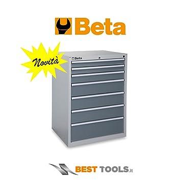 Cajonera fija Beta C35/7 modelo industrial con 7 cajones ...