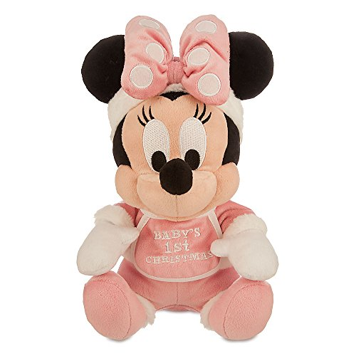 Disney Minnie Mouse Holiday Plush - ''Baby's 1st Christmas'' -9 Inch ()