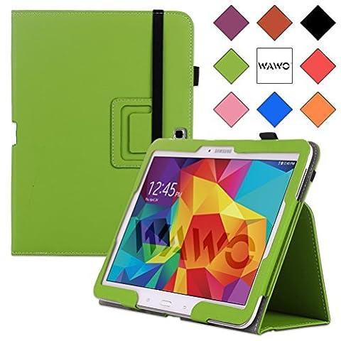 WAWO Samsung Galaxy Tab 4 10.1 Inch Tablet Smart Cover Creative Folio Case (Green) (Tablet Samsung Tab4 10)