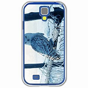 Personalized Samsung Galaxy S4 SIV 9500 Back Cover Diy PC Hard Shell Case Owl White
