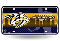 Nashville Predators Metal License Plate - Skyline