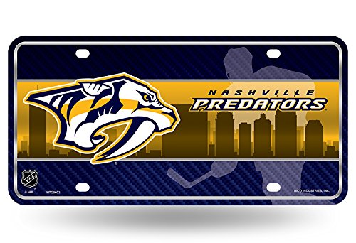 Image result for picture of nashville predators license plate inserts