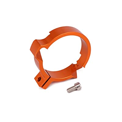 """Motorcycle 72MM 2.83"""" Exhaust Flange Protector Muffler Pipe Clamp CNC For KTM SX250 EXC250 EXC300 SX EXC 250 EXC 300 2 Stroke 2020-2020 Orange: Automotive"""