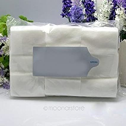 Toallitas para uñas 100% sin pelusas, super absorbentes, toallitas de algodón para quitar las uñas, almohadillas para uñas de Hinmay 900 unidades: Amazon.es: Belleza
