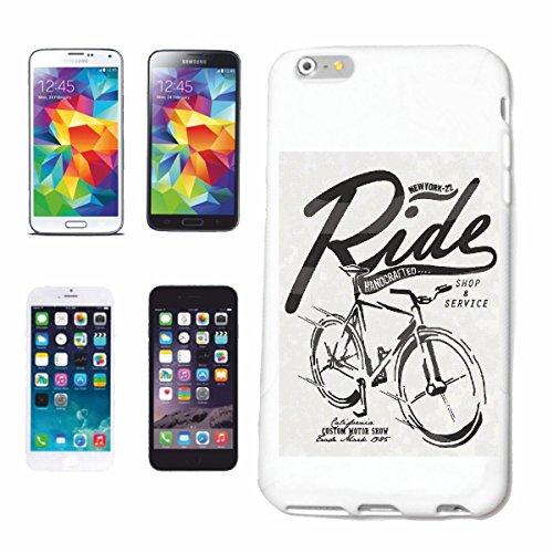 """cas de téléphone iPhone 7 """"LADIES BIKE CYCLISTE MOUNTAIN BIKE RÉPARATION CYCLISME SPORT BIKE TOUR VELO SHIRT"""" Hard Case Cover Téléphone Covers Smart Cover pour Apple iPhone en blanc"""