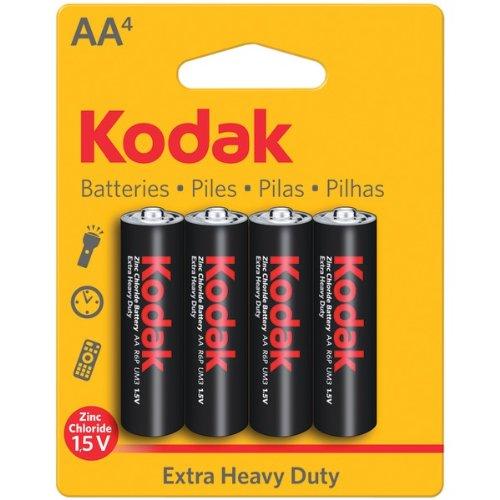 KDKPKAAHZ4 - KODAK KAAHZ-4 30452862 Extra Heavy-Duty Carbon Zinc Batteries (AA; 4 pk)
