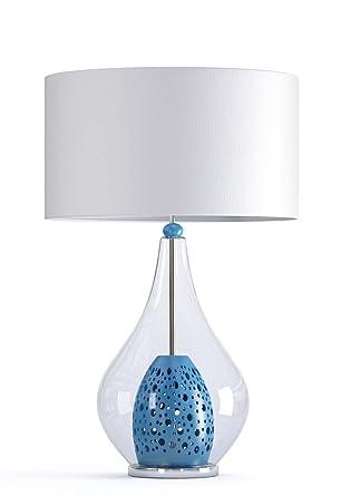 Lámpara de mesa Circle 51350 (Cristal soplado y cerámica ...