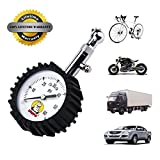 Tire Pressure Gauge - Hippo High Accurate Portable Digital 60 Psi Heavy Duty Tire Air Gauge Monitoring Tool Tester Meter for Car, Truck, RV, SUV, Motorcycle