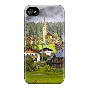 Premium Life In A Austria Village Heavy-duty Protection Case For Iphone 4/4s