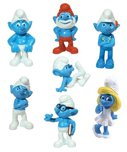 Smurfs Lot of 20 Party Favors