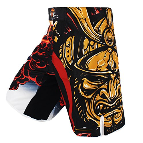 SOTF Shorts Kick Boxing Tiger Muay Thai Shorts MMA Boxing Fight Wear Yokkao Bermuda MMA Boxing Sanda (XL)
