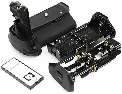 Genertic empuñadura de batería para Canon EOS 60d cámara réflex ...