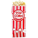 Popcorn Bags - 1oz Classic Red & White Stripes (200)