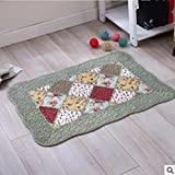 Cotton mats anti-skid living room floor mats bathroom mats -50*70cm l