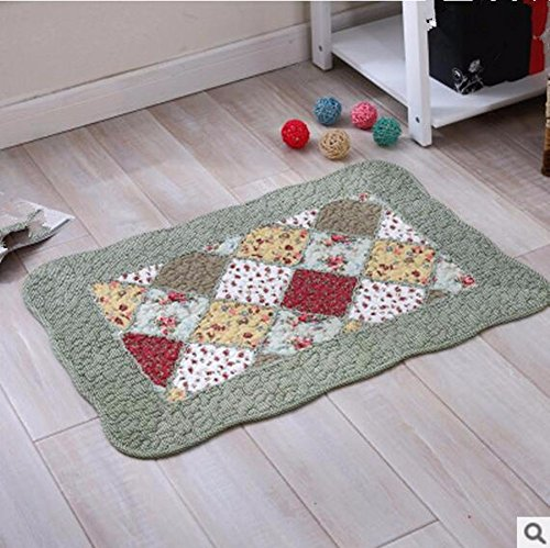 Cotton mats anti-skid living room floor mats bathroom mats -5070cm l by ZYZX