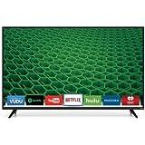 "VIZIO HD LED Smart TV (Black) (50"" Class (49.5"" Diag.) Smart HDTV (D50f-E1))"