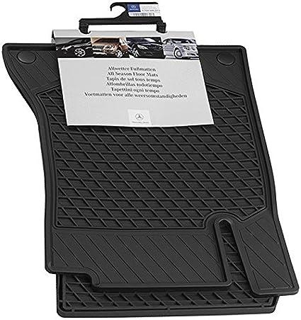 All Weather Heavy Duty Floor Mat Set Autotech Park Custom Fit Car Floor Mat Compatible with 2010-2016 Mercedes E-Class Sedan Does NOT fit E-Class Coupe