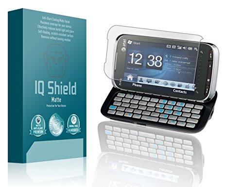 IQ Shield Matte Full Coverage Anti-Glare Screen Protector for HTC Tilt 2 (AT&T) Anti-Bubble Film