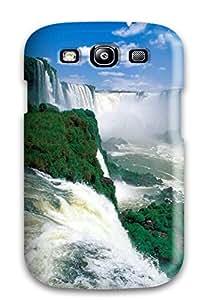 Snap On Case Designed For Galaxy S3 Iguazu Waterfalls