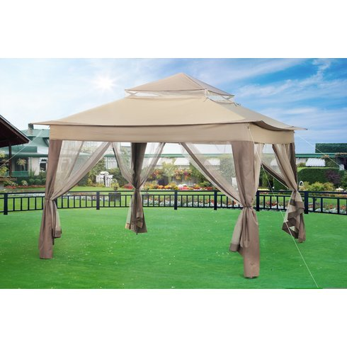 Sunjoy10 Ft. W x 10 Ft. D Metal Portable Gazebo
