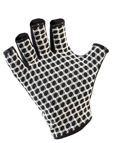 Gilbert International Rugby Gloves (Black, Large)