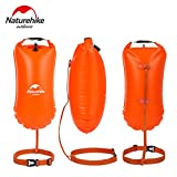 Grandbuy Online Shop NA Swim Buoy - Swim Safety Float Dry Bag Open Water Swimmers Triathletes Snorkelers Surfers Safe Swimming Training(PVC 8L Orange)