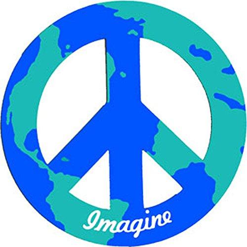 Peace Car Magnet - 5