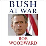 Front cover for the book Bush at War by Bob Woodward