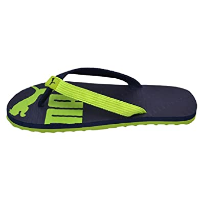 950b7b7d4f8 Puma Men s Blue rubber Slipper -8  Buy Online at Low Prices in India ...