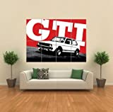 VW MK GOLF VOLKSWAGEN GTI CAR GIANT WALL ART PRINT PICTURE POSTER G1215