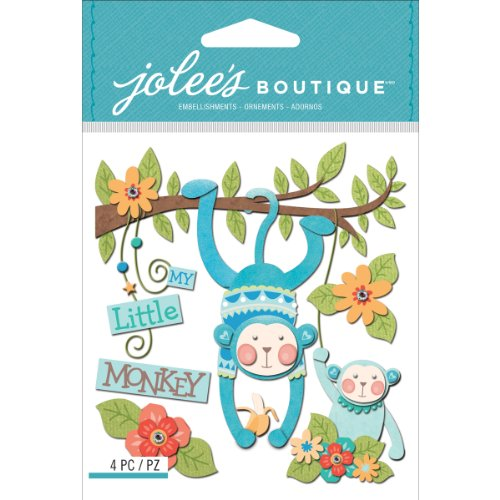 Jolee's Boutique Dimensional Stickers, Baby Boy My Little ()
