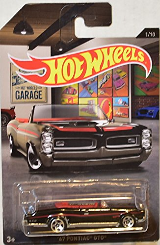 Hot Wheels 1967 '67 Pontiac GTO Convertible Garage Series 1/10 HW Diecast ()