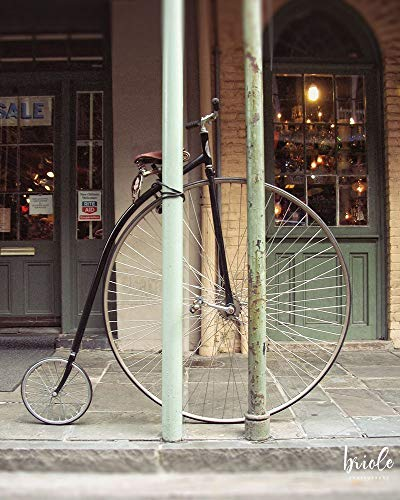 (New Orleans Bicycle Photograph