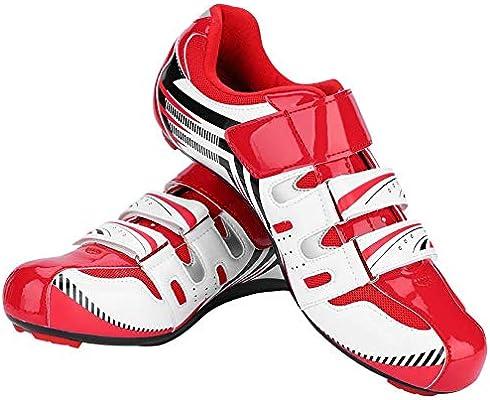 VGEBY1 Zapatillas de Ciclismo, Zapatillas de Bicicleta de ...