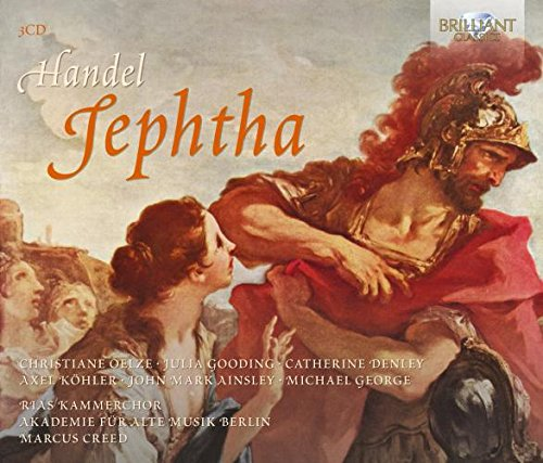 Price comparison product image Handel: Jephtha