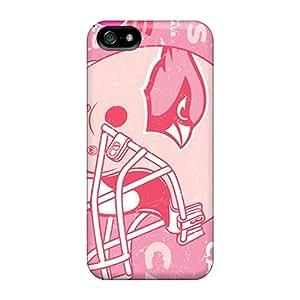 Marycase88 Iphone 5/5s Shock Absorbent Hard Phone Cases Custom Nice Arizona Cardinals Image [nuf515sZwp]