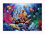 Swyss 5D Embroidery Paintings-DIY Diamond Painting Cross Stitch-Art Home Decor-Fish -30X40cm