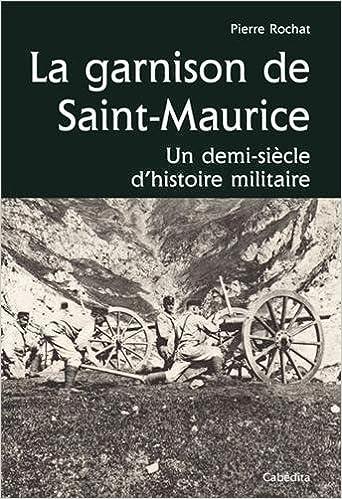 GARNISON DE SAINT-MAURICE epub, pdf
