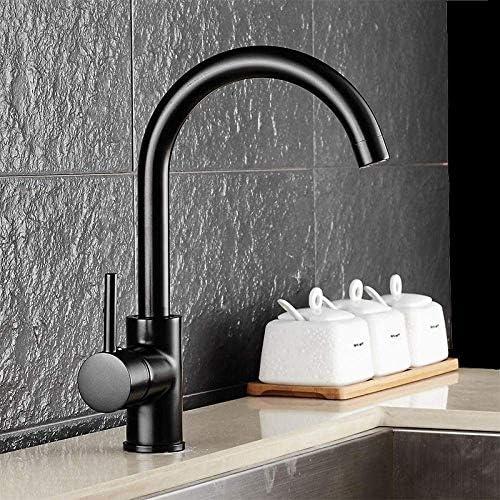 SRX 蛇口ミキサー流域真鍮のシンクミキサータップ非震とう浴室蛇口黒いキッチン蛇口スイベルシンクシンク肘の蛇口